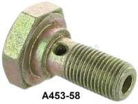 raccord flexible de frein au tube sur bras de suspension arrière droit, 2CV, n° d'origine A45358, longueur 27mm | 13132 | Der Franzose - www.franzose.de