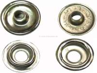 bouton pression, complet, à riveter | 17115 | Der Franzose - www.franzose.de