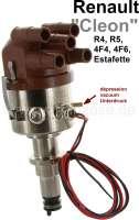 allumeur électronique complet avec réglage de courbe par dépression, coudé à 90°, Renault 4L, R5, R5 1400cm³  et R5 Alpine, Estafette, moteurs 1100cm³,  Attention: entraînement du distributeur par 2 ergots.  R-222 C33Renault-4-Fourgon / 688 R-280 C52Renault 4 GTL / 688 R-244 D61Renault 4 GTL / 688 R-268 C52Renault 4 Savanne / 708 R-275/R287 C34Renault 5 engine / 800-10 R-268 C34Renault 5 engine / 689-10 R-248 C34Renault 5 engine / 810-25 R-248 C33Renault 5 engine / 810-26 R-294 D61Renault 5 engine / 810-29 R-308 C33Renault 5 / 1400cc engine R-230 C34Renault 5 AlpinR110DAF 55  B13055  R-249 C33Estafette R-213e 810-01 1289 cc  ZS & ZTSavanne, Estafette / 671 | 82893 | Der Franzose - www.franzose.de