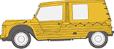 Citroen-2CV Mehari Parts