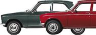 Peugeot 204 + 304 Parts